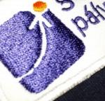 cég logó hímzés