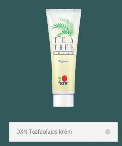 dxn teafaolajos krém