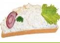 rokfortos szendvics